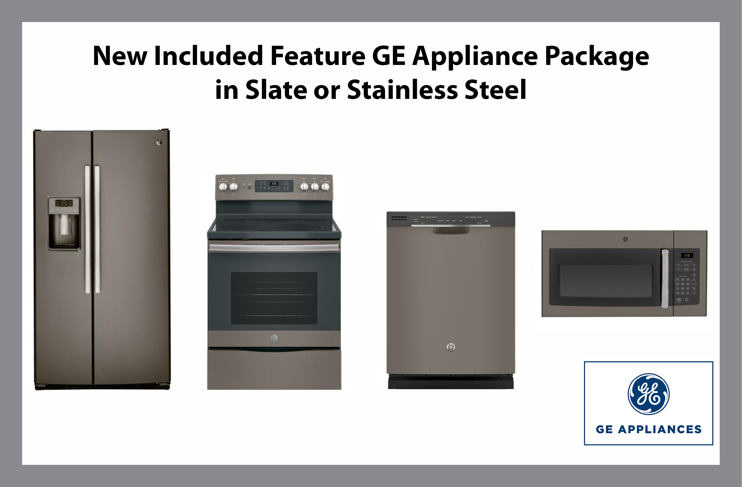 ge appliances now included with all