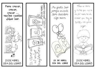 Marcapáginas, manualidades infantiles, moda, regalo dia del libro