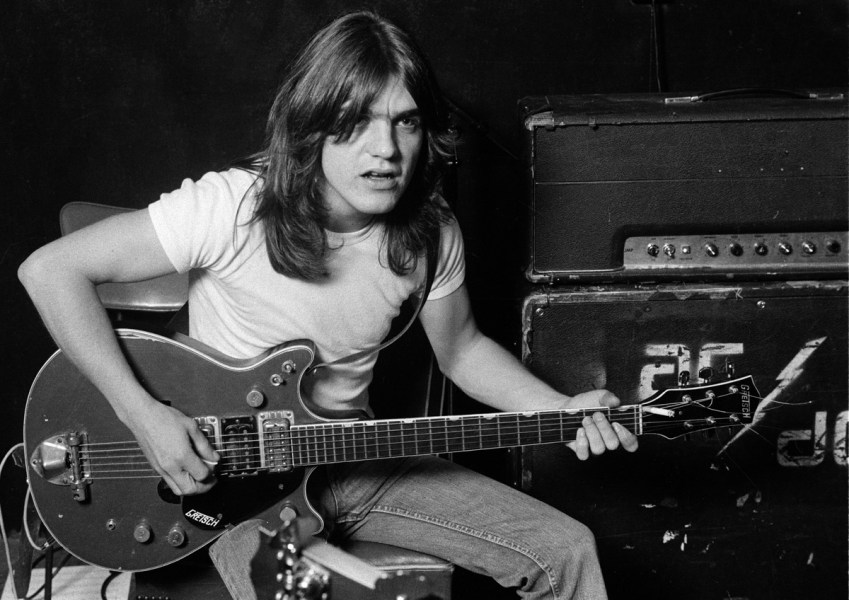 AC DC   The Official Website Malcolm Young