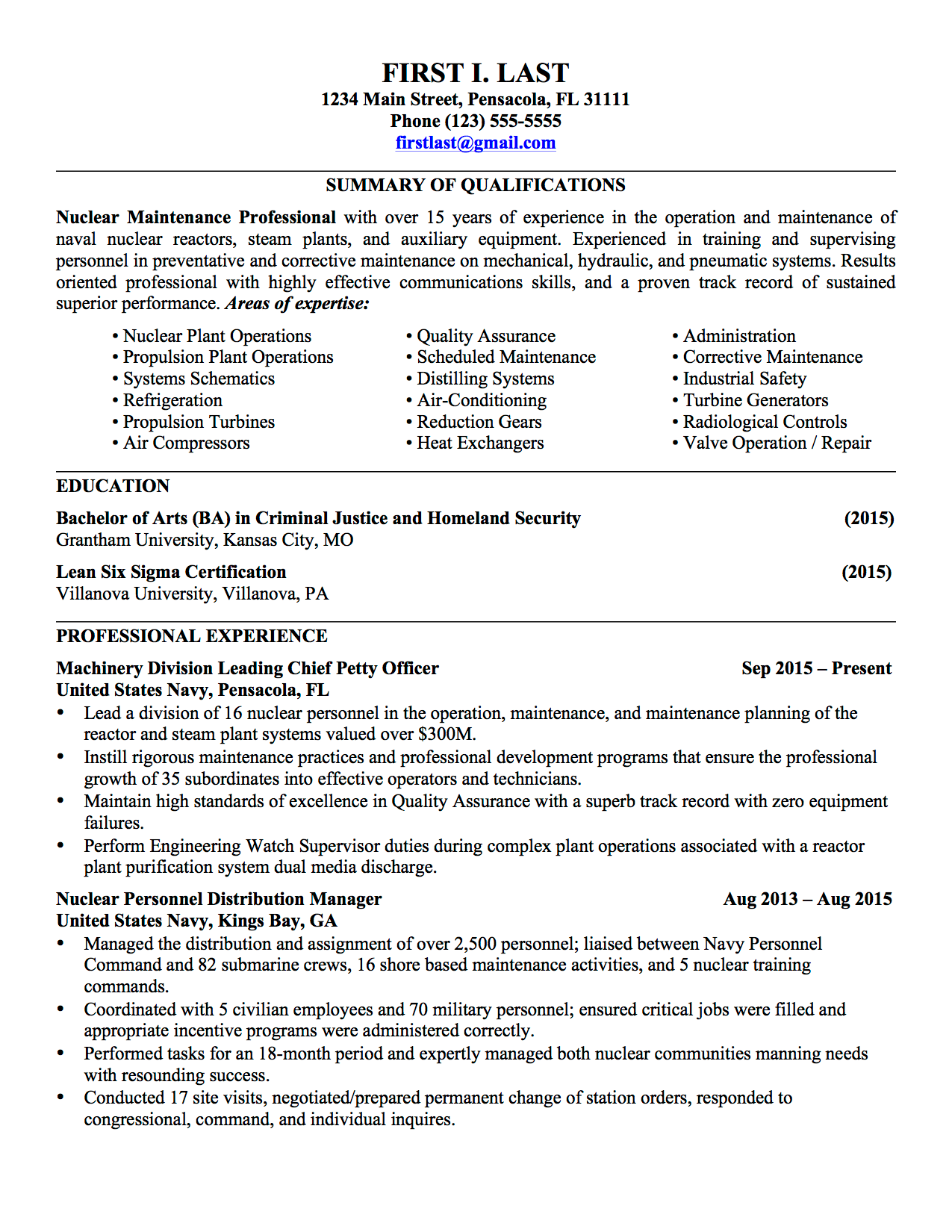 Military Resume Samples Military Resume Military Veteran Resume Examples  Example Veteran Resume Military Military Resume Sample