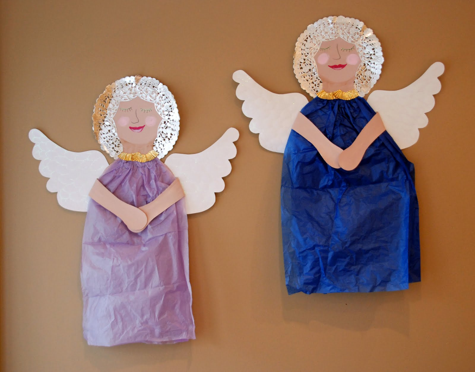 Arts And Crafts Christmas Angel Catholic Teacher Resources