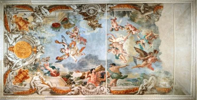 Il restauro delle sale del piano Nobile di Palazzo Orsini-Barberini a  Monterotondo