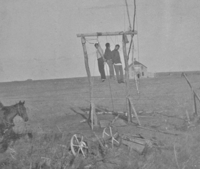 Remembering Native American Lynching Victims Bunk