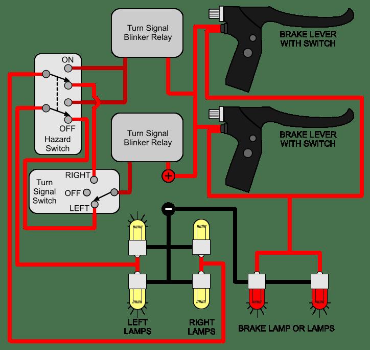 turn signal brake hazard light wiring diagram for electric bike amber signal stat 640 wiring diagram diagram wiring diagrams for diy Basic Turn Signal Wiring Diagram at gsmportal.co
