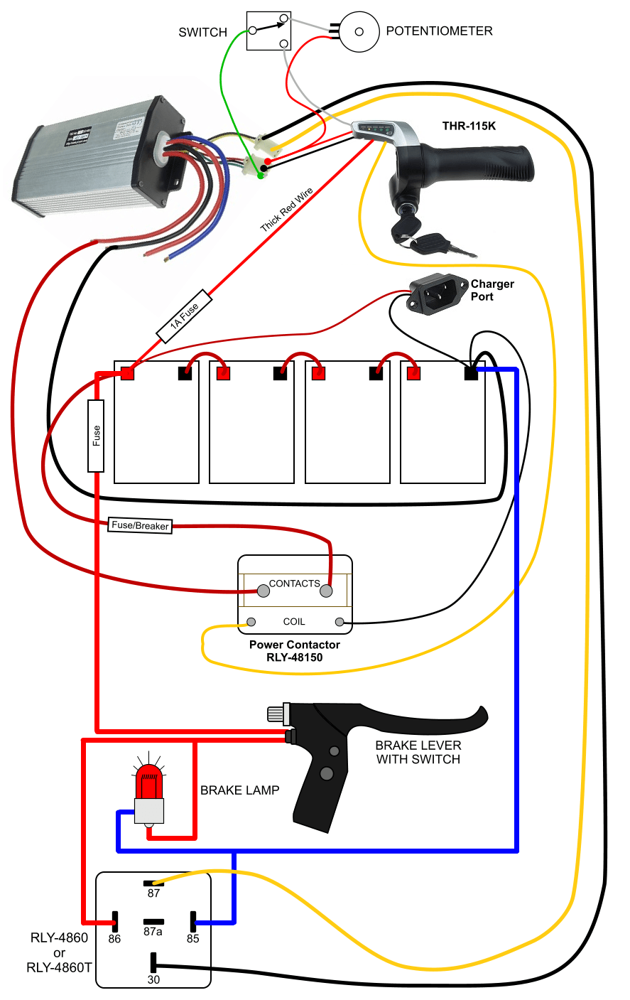 Brake light : ElectricScooterParts Support