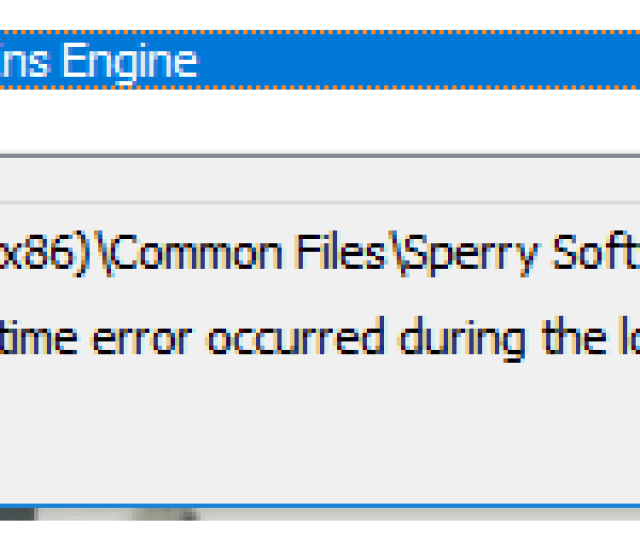 The First Thing To Check Is To See If You Are Running Outlook In Click To Run Mode Sperry Software Add Ins Do Not Work In Outlook When It Is In This Mode