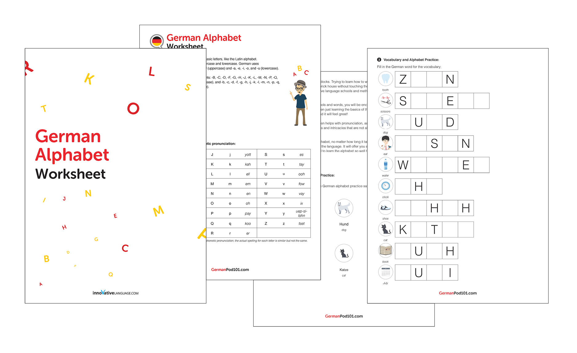 Learn The German Alphabet With The Free Ebook
