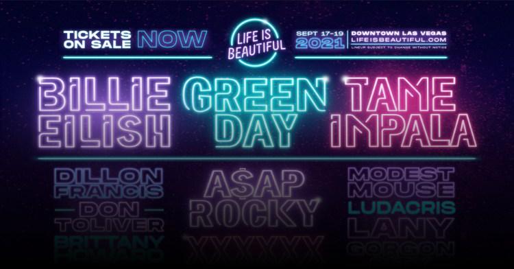 Lineup | Life Is Beautiful Music & Art Festival