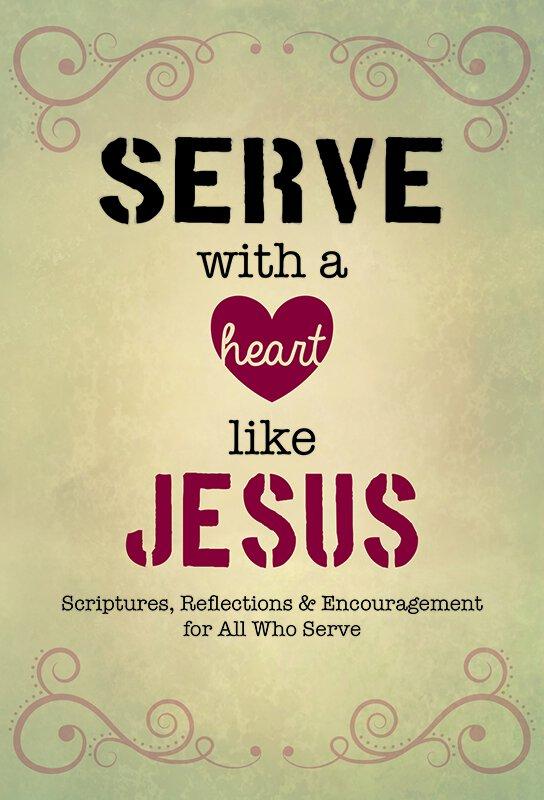 Serve With A Heart Like Jesus Devotional Book 12pk