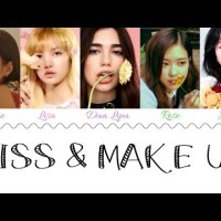 CHORDS: Kiss And Make Up - Dua Lipa & BLACKPINK Piano & Ukulele Chord Progression and Tab