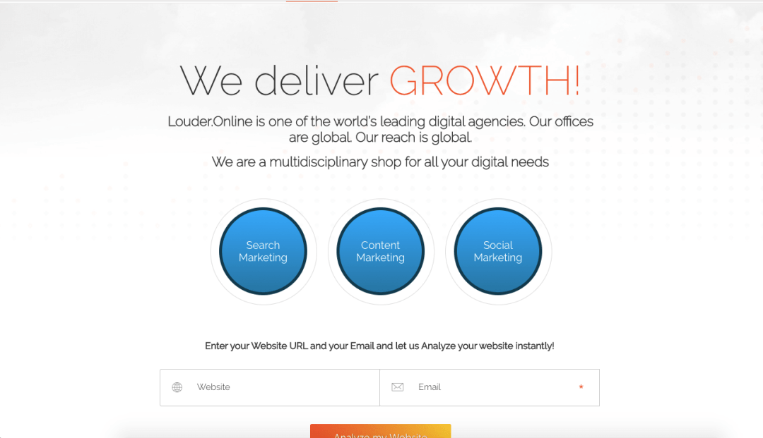 we deliver growth