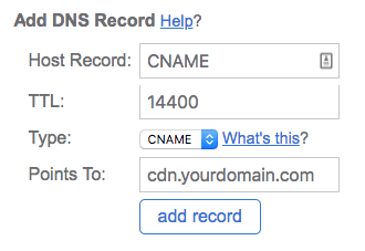 speed up your website bluehost cname
