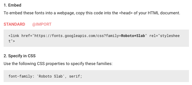 speed up your website google fonts