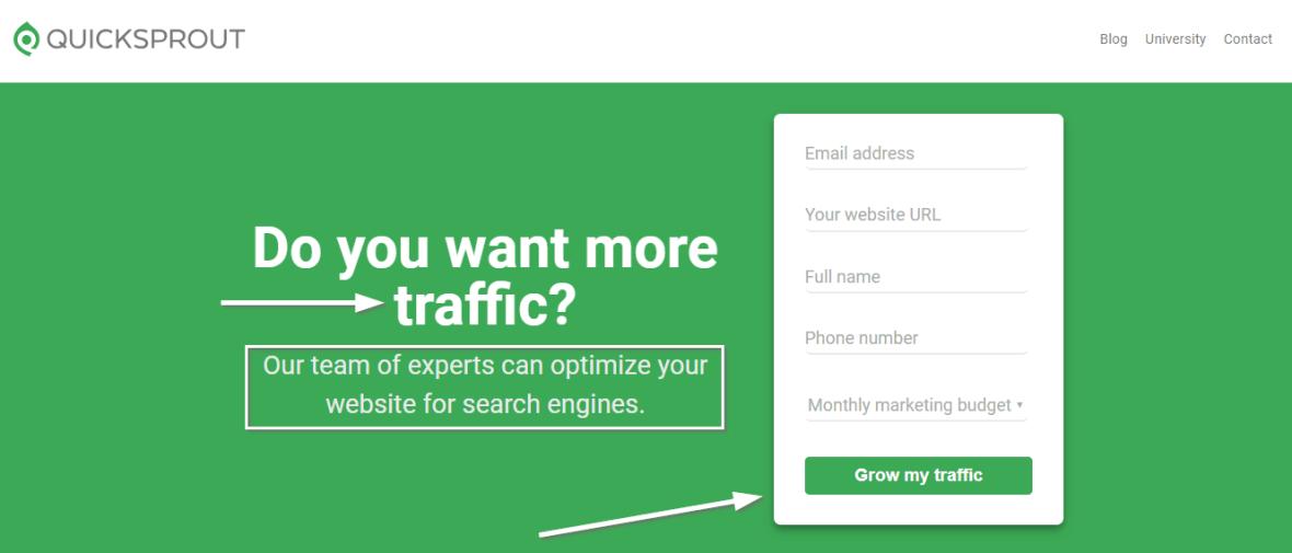 best-homepage-quicksprout