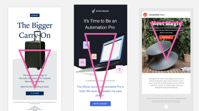 email design visual hierarchy