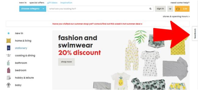 customer-feedback-cro-example-website