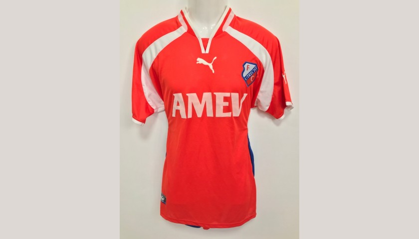fc utrecht worn shirt friendly match 2002 2003 charitystars