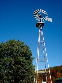 windmill-on-blue-skies