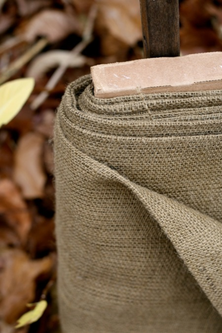 burlap_in_the_garden
