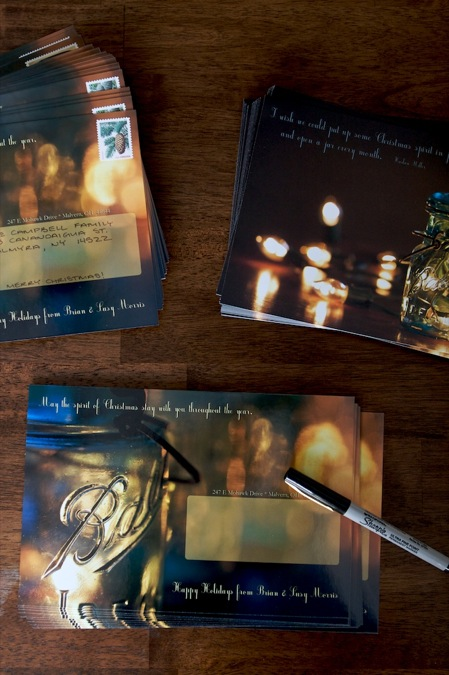 addressing_Christmas_cards
