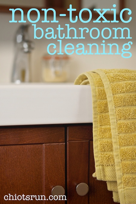 Nontoxic Bathroom Cleaning Chiots Run - Non toxic bathroom cleaner