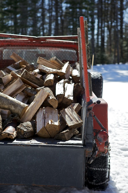 splitting wood 2