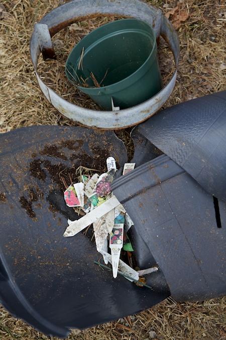 plastic garden trash 2