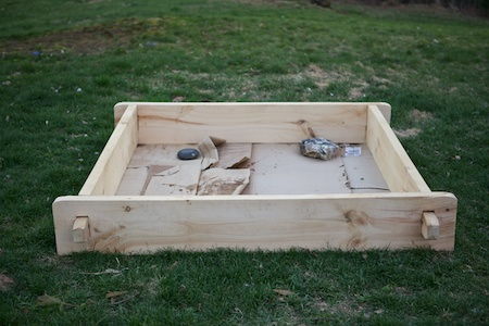 timberframed raised bed 2