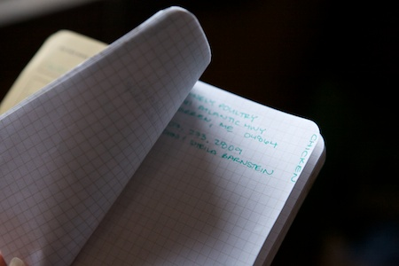 field notes 2