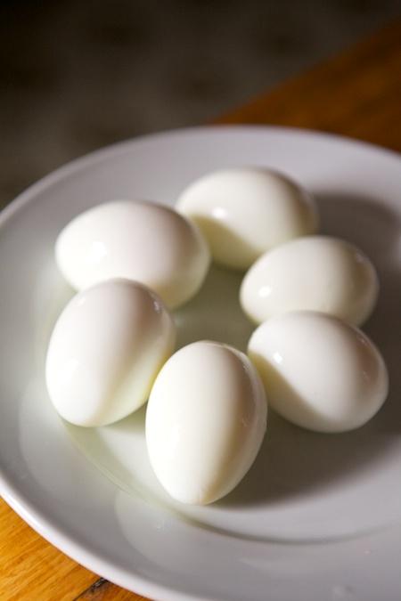 hard boiled eggs 2
