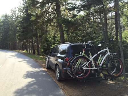 biking in Acadia 1