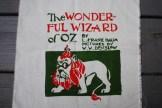 The Wonderful Wizard of Oz, freezer paper stencil