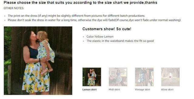 Screenshot example of adding real customers' pictures to encourage buyers to make purchases