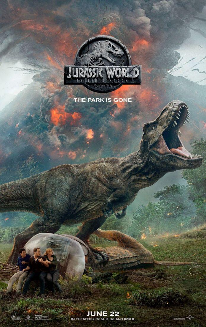 jurassic2 Jurassic World: Reino Ameaçado |  Filme ganha novo poster