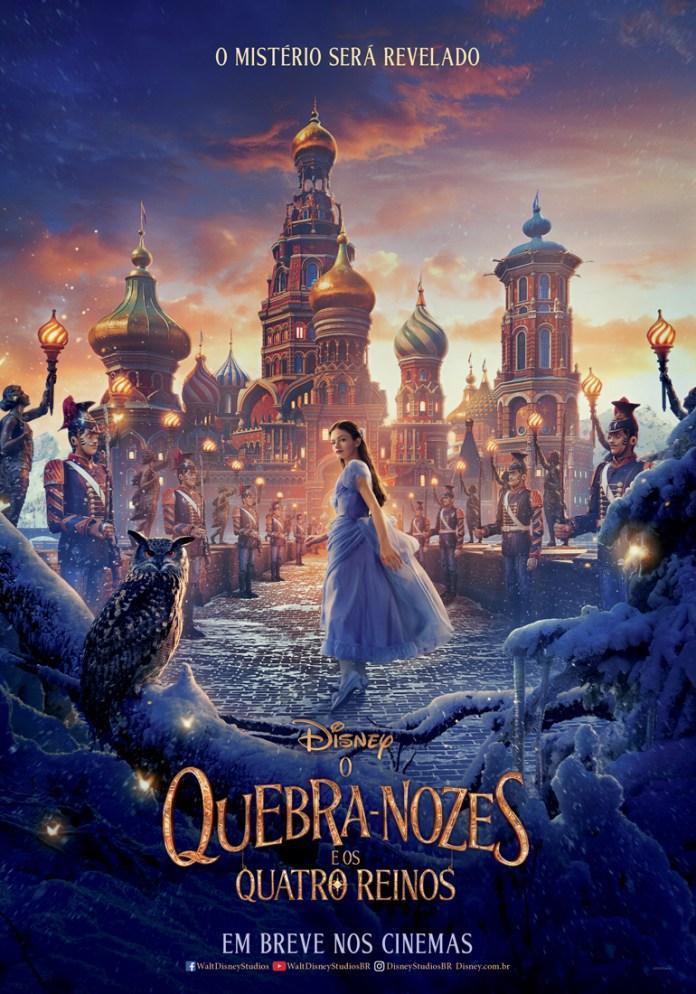 SNOWY_OWL_TEASER2_BRAZIL O Quebra-Nozes e os Quatro Reinos | Disney divulga primeiro poster do filme