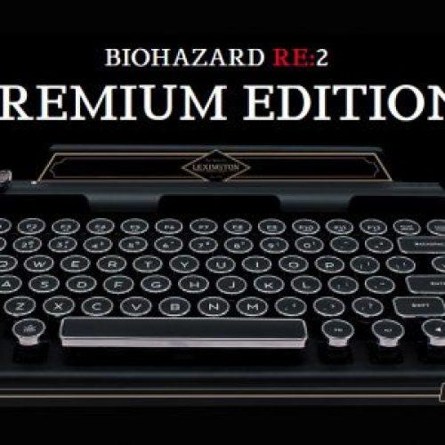 premiumbiohazard2-300x300 Edição japonesa de Resident Evil 2 terá Máquina de Escrever Bluetooth