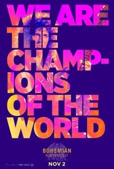 4 Bohemian Rhapsody | Novos cartazes estampam letras banda Queen; Confira