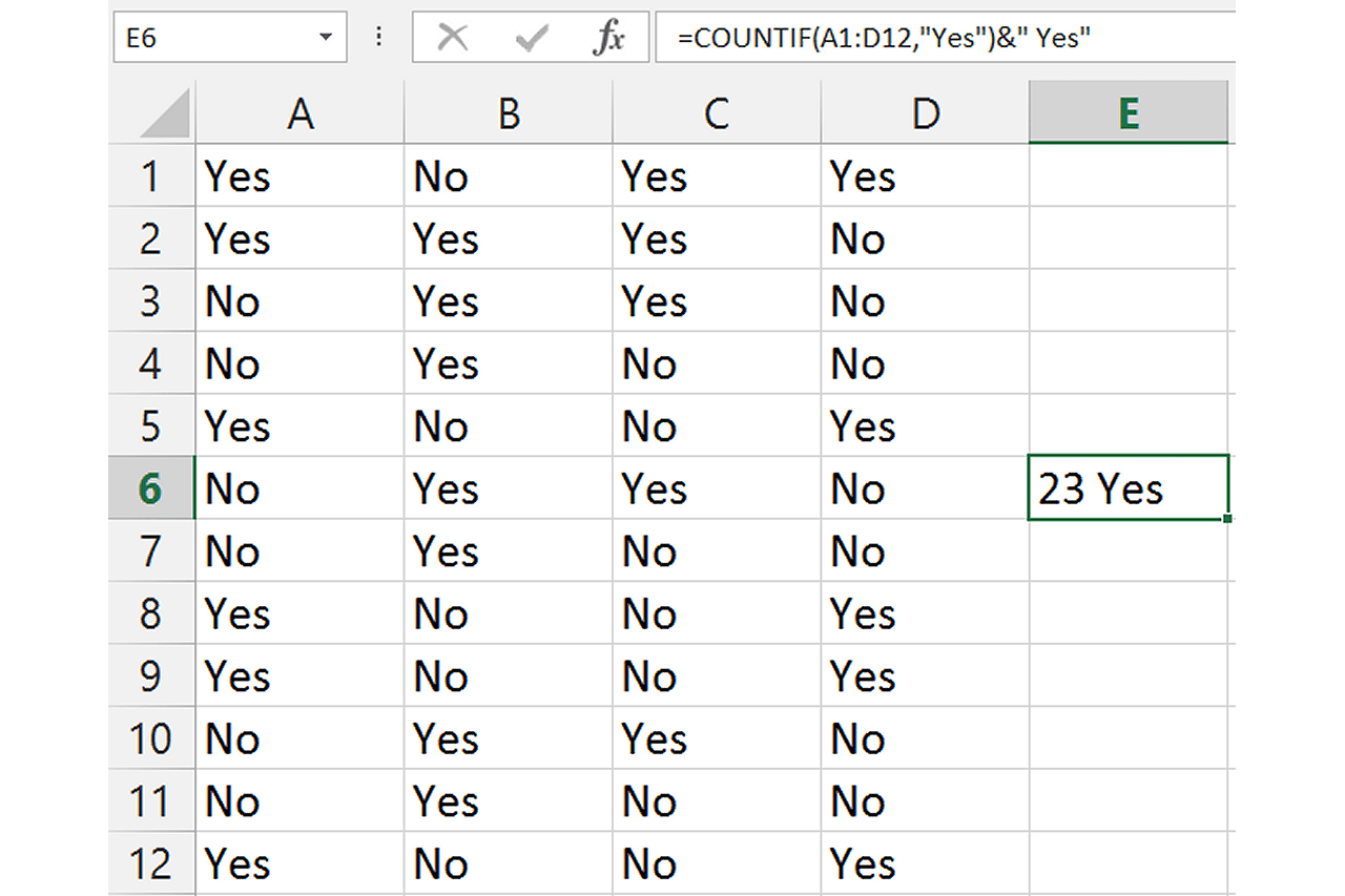 Excel Count Occurrences In Column