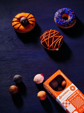 Dunkin' Dresses Up Its Donuts This Month With More Than A Dozen Halloween-Inspired Names and Designs