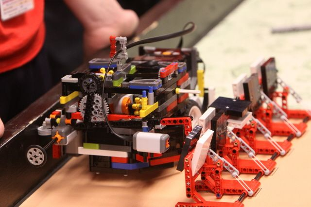 Northrop Grumman Hosts Teams in  FIRST LEGO League Tournament  as     Northrop Grumman Hosts Teams in  FIRST Lego League Tournament  as Part of  STEM Outreach