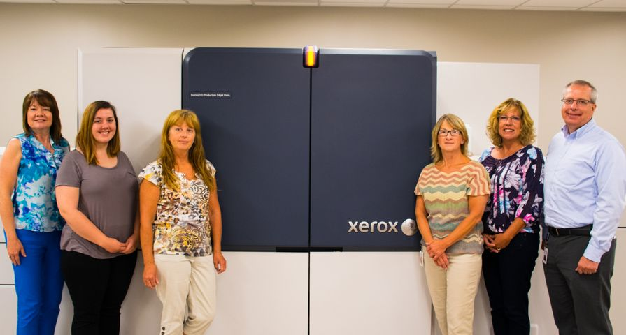 Pekin Insurance Adds Brenva HD Production Inkjet Press to Existing Line-up of Xerox Presses