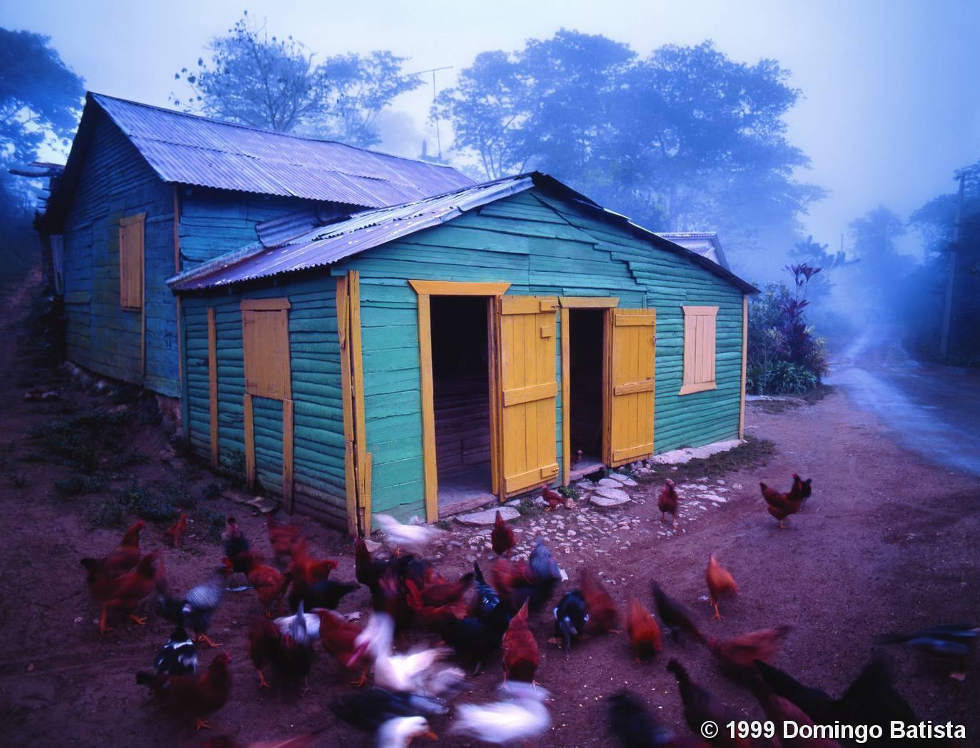 Dawn At La Lomota By Domingo Batista Black Amp White