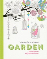 Colouring for mindfulness - garden