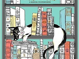 catsinparis - Cats & Dogs In Style - Coloring Book Review