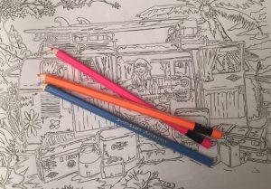 Campervan Colouring Book