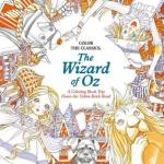wizardofozcover - Alice and the Looking Glass Coloring Book