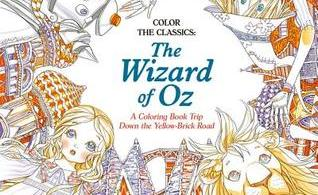 wizardofozcover - Where the Wildflowers Grow Coloring Book