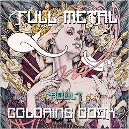 FullMetal - Full Metal Adult Coloring Book Review