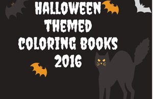 halloweencoloringbooks300 - Coloring Books - New Releases - October 2016
