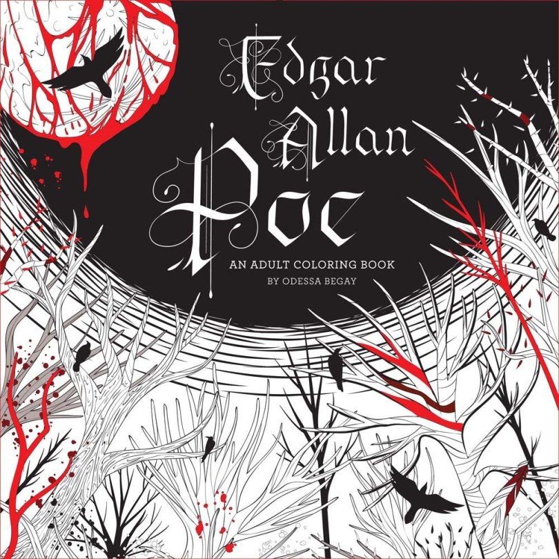 Poe coloring book - Edgar Allan Poe - An Adult Coloring Book